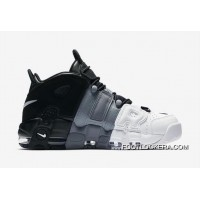 """Nike Air More Uptempo """"Tri-Color"""" Black/Cool-Grey-White Online Authentic"""