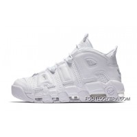 """Nike Air More Uptempo """"Triple White""""Shoes For Men For Sale"""