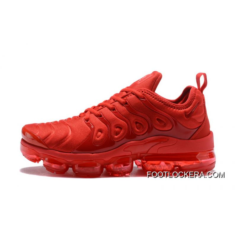d00e23186f5e Top Deals Nike Air VaporMax TN 2018 Plus University Red Blood Vessels ...
