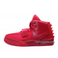 "Nike Air Yeezy 2 ""Red October"" Glow In The Dark New Style"
