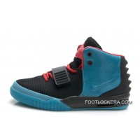 "Nike Air Yeezy 2 ""South Beach"" Glow In The Dark Sole Free Shipping"