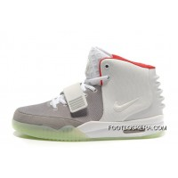 Nike Air Yeezy 2 Wolf Grey/Pure Platinum Glow In The Dark For Sale