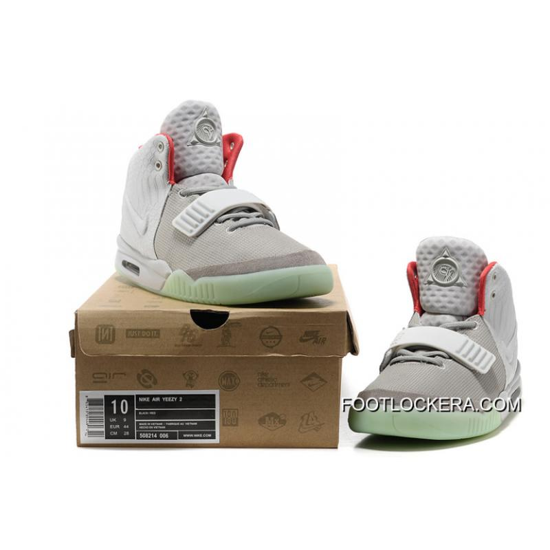 Nike Air Yeezy 2 Wolf Grey Pure Platinum Glow In The Dark For Sale ... f88ed1fe5c