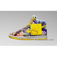 Nike Dunk High Premium QS 728443-100 Crayon Graffiti Super Deals