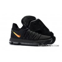 "Nike KD 10 ""PK80″ Black/Metallic Gold Discount"