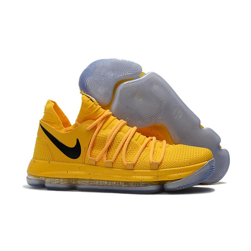 buy popular 9b79a c0561 Outlet Nike KD 10 Yellow Black