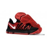 Nike KD 10 Black Red White Best