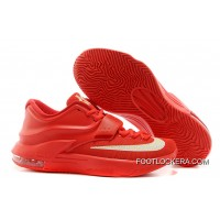 "Nike Kevin Durant KD 7 VII ""Global Game"" Action Red/Metallic Silver Discount"