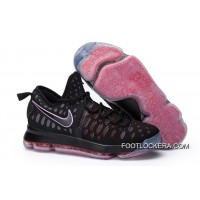 Nike KD 9 Black Red Shoes Top Deals