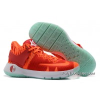 New Released Nike KD Trey 5 Knit Red Orange White High Quality Free Shipping