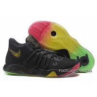 Nike KD Trey 6 Black Gold Rainbow Basketball Shoes High Quality Top Deals