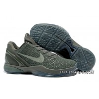 "Nike Zoom Kobe 6 ""Fade To Black"" Basketball Shoes Discount"