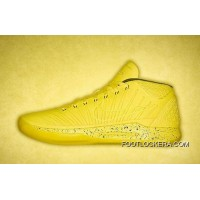 Nike Kobe AD Mid Positive BASKETBALL SHOES YELLOW Authentic