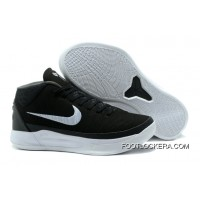 """Nike Kobe A.D. Mid """"Black White""""Shoes For Men Discount"""