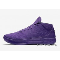 """Nike Kobe A.D. Mid """"Fearless"""" Purple Sneakers On Sale Authentic"""