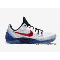 "Nike Kobe Venomenon 5 ""USA"" White/Team Red-Midnight Navy Cheap To Buy"