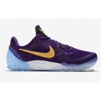 Nike Kobe Venomenon 5 Classic Lakers Purple Gold Colors Super Deals