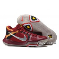 """Nike Kyrie 3 """"Cavs"""" Red Yellow Silver Glow In The Dark Sole Discount"""