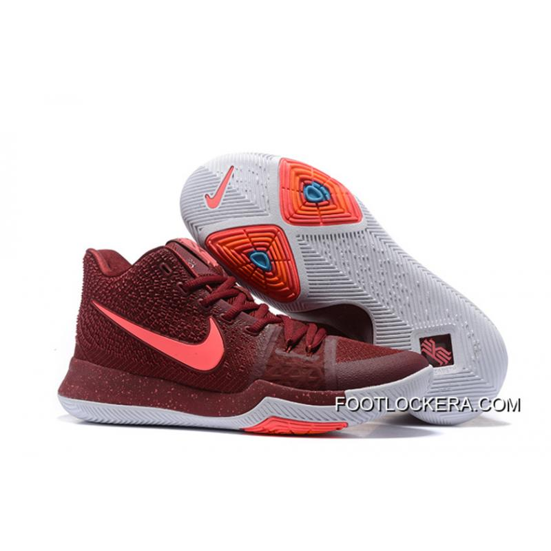 """huge selection of 7b595 9bb7b Nike Kyrie 3 """"Team Red"""" Authentic"""