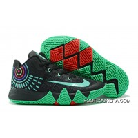 Nike Kyrie 4 Black Green Red Discount