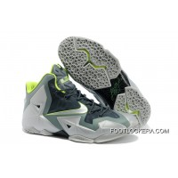 "Nike LeBron 11 ""Dunkman"" Mica Green/Sea Spray-Dark Mica Green-Volt New Style"