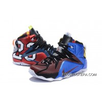 """Nike LeBron 12 """"What The"""" Multi-Color/Multi-Color Free Shipping"""