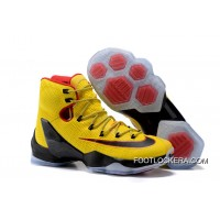 Nike LeBron 13 Elite Yellow/Black-Red Top Deals