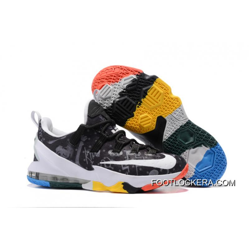 """buy online b74f6 c9e3f Nike LeBron 13 Low """"LeBron James Family Foundation"""" Cheap To Buy ..."""