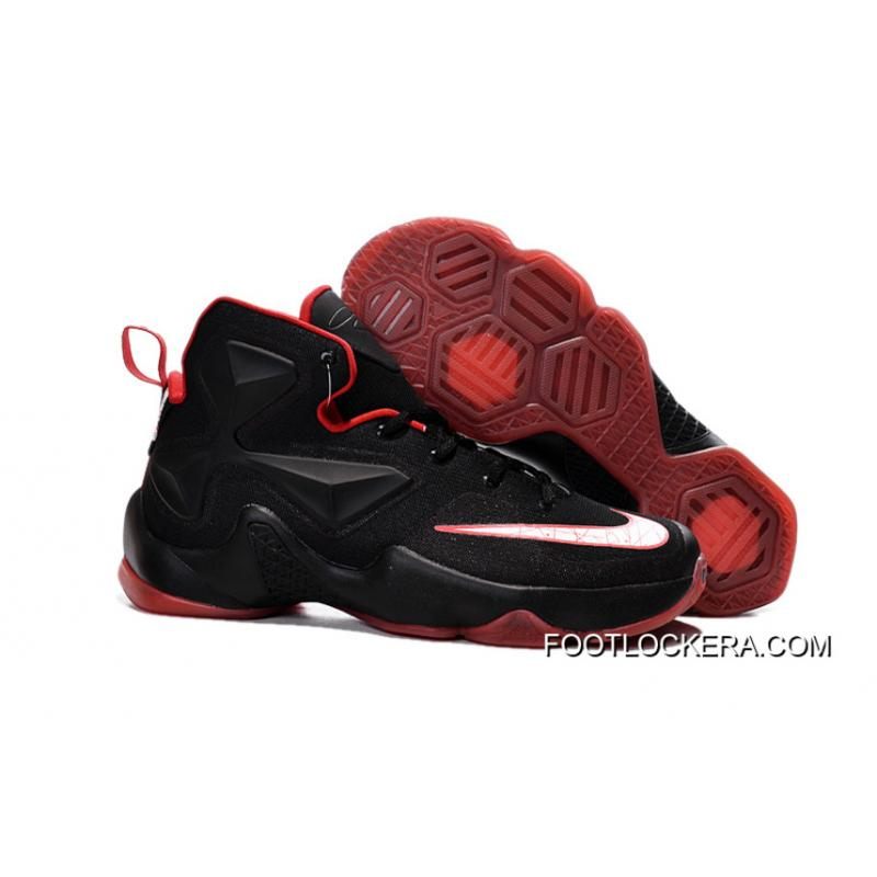 Nike Lebron 13 Black Red Men Basketball Shoes For Top Deals