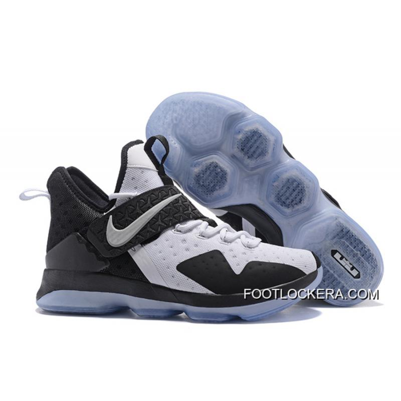 db6f8bfb9d9 Discount Nike LeBron 14 Black White-Black Hot Sell New Release ...