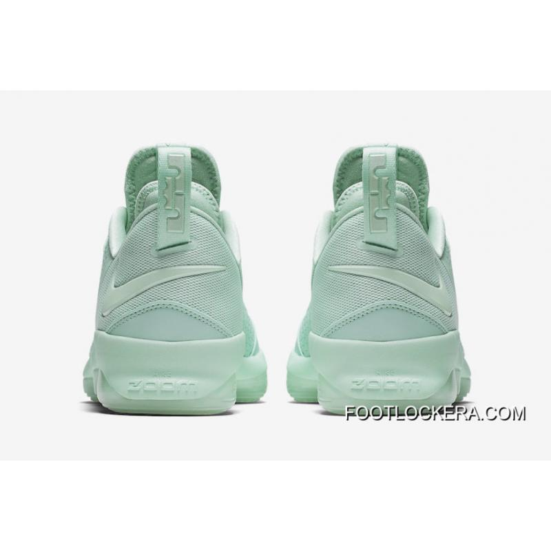 "... Latest Nike LeBron 14 Low ""Mint Green""Men Sneakers Hot Sell New Release  ..."