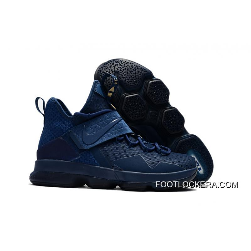 "reputable site e24ec 0e6d1 Newest Nike LeBron 14 ""Agimat"" Coastal Blue/White-Star Blue Authentic"