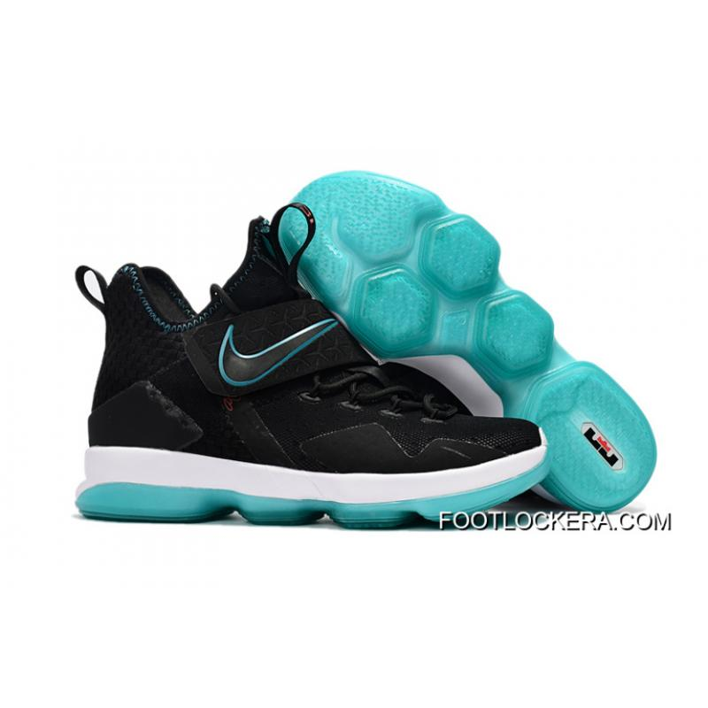 "super popular e035f 5f531 Nike LeBron 14 ""Red Carpet"" Black/Black-Hyper Turquoise-University Red  Authentic"