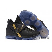 Nike LeBron 14 Black/Metallic Gold Men Sneakers Best