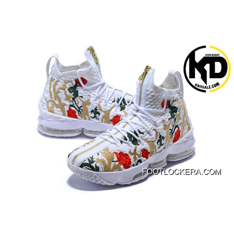 "f74a3bcab20 ... KITH X Nike LeBron 15 ""Floral"" Where To Buy"