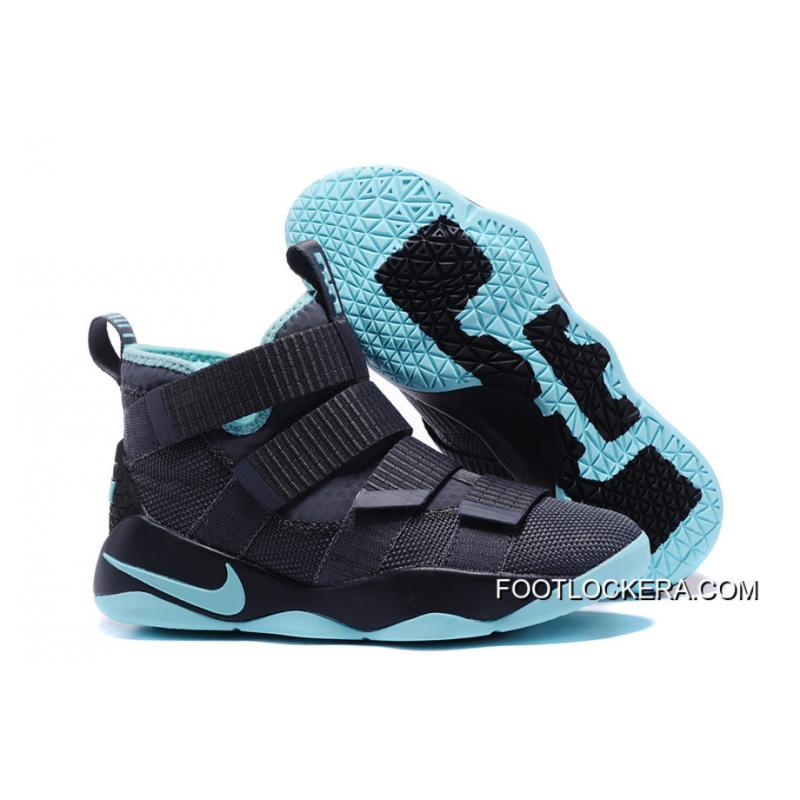 "super cute 18012 4fade Nike LeBron Soldier 11 ""Igloo"" Cool Grey/Igloo Sneakers On Sale New Style"