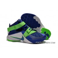 """Nike LeBron Soldier 9 """"Sprite"""" Basketball Shoe For Sale"""