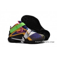 """Nike LeBron Soldier 9 """"What The LeBron"""" Multi Color/Black-White Basketball Shoe Discount"""