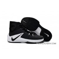Nike Zoom Clear Out Black White Basketball Shoes Free Shipping