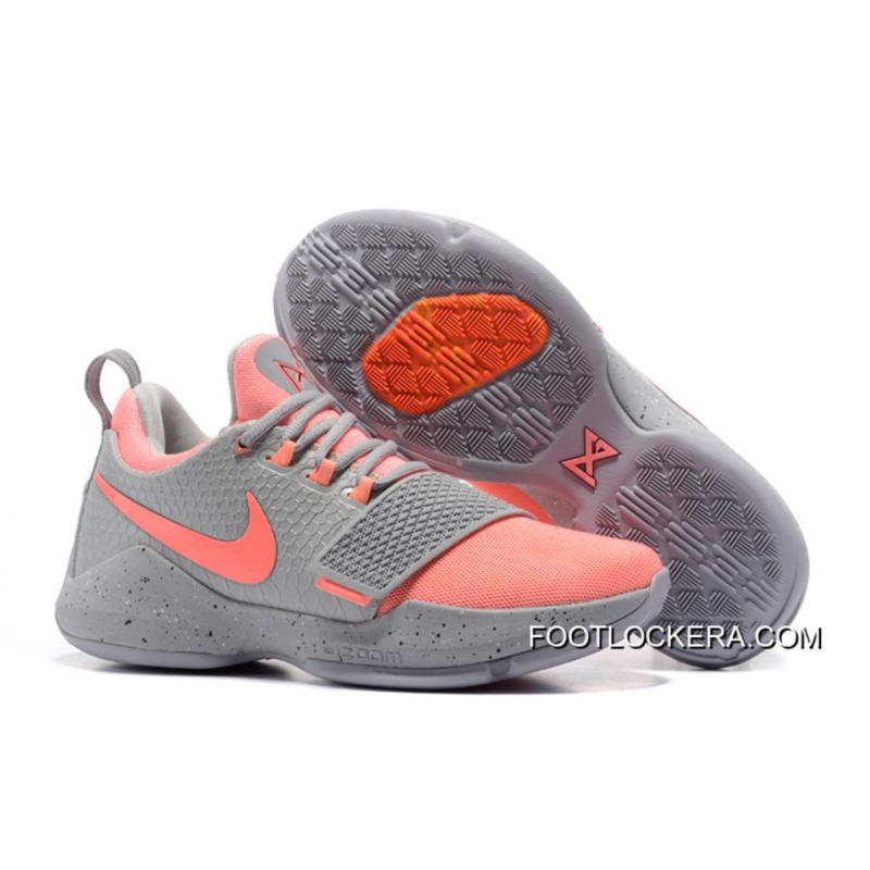 finest selection 779ac a8777 Nike Zoom PG 1 Grey Pink Lastest