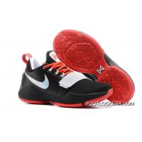Discount Nike Zoom PG 1 Black White Red High Quality Copuon Code