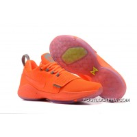 New Release Nike Zoom PG 1 All Orange Hot Sell Super Deals