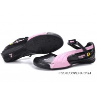 2018 Discount Puma Espera Ii Shoes Black/Pink
