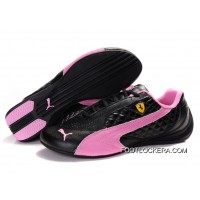 2018 Copuon Puma Ferrari Induction Sneakers Black/Pink