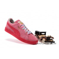 PUMA SPORTSTYLE SUEDE Womens Colorful Pink For Sale