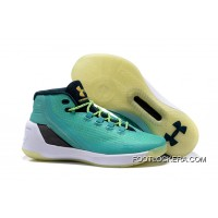 "Newest Under Armour Curry 3 ""Reign Water"" Neptune/Sable-Metallic Gold Cheap To Buy"