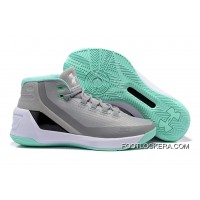 Under Armour Curry 3 Grey/Meteor Green/White Online