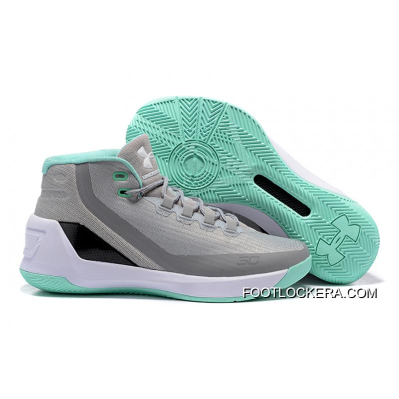 Under Armour Curry 3 GreyMeteor GreenWhite New Year Deals