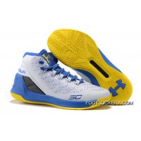 "Under Armour Curry 3 ""Warriors"" Dub Nation Home On Sale New Style"