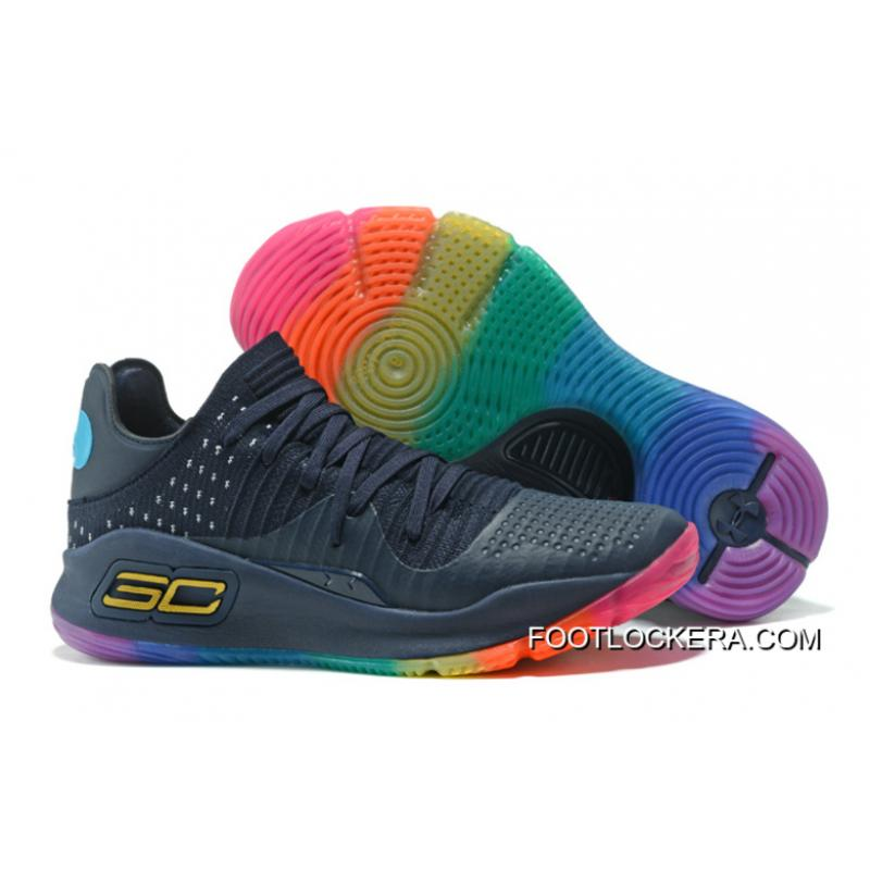 """ed37e330a3d Under Armour Curry 4 Low """"Be True""""Basketball Sneakers Top Deals ..."""